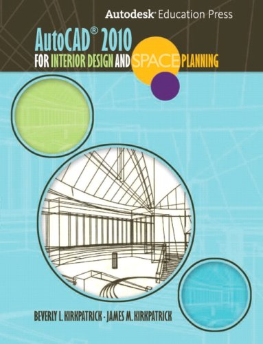 9780135069929: AutoCAD 2010 for Interior Designers and Space Planning (Alternative Etext Formats)
