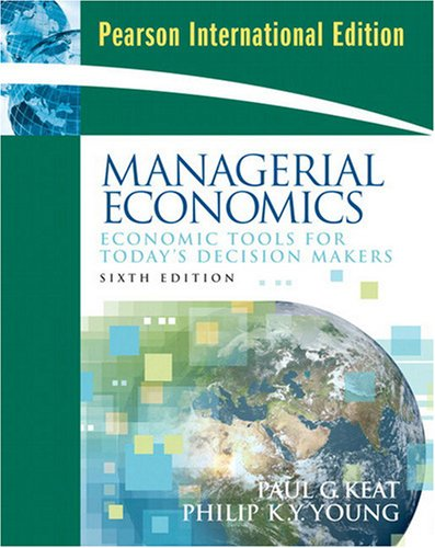 9780135070659: Managerial Economics: International Edition