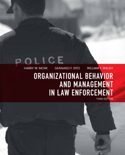 9780135071526: Organizational Behavior and Management in Law Enforcement (3rd Edition)