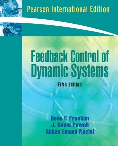 9780135071816: FEEDBACK CONTROL OF DYNAMIC SYSTEMS (PEARSON)