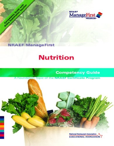 9780135072578: ManageFirst Nutrition with On-line Testing Access Code Card and Test Prep