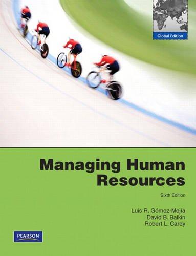 9780135073018: Managing Human Resources