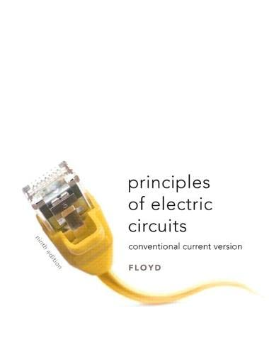 9780135073094: Principles of Electric Circuits: Conventional Current Version