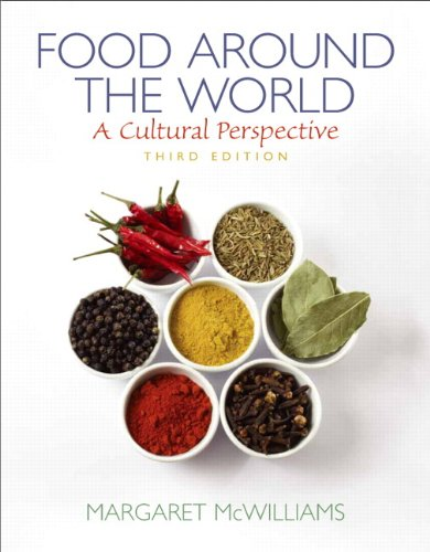 9780135073353: Food Around the World: A Cultural Perspective (3rd Edition)