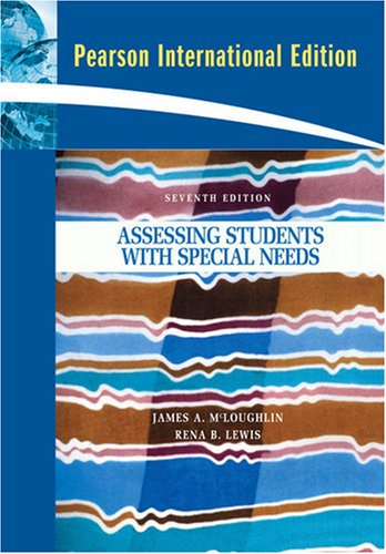 9780135075104: Assessing Students with Special Needs