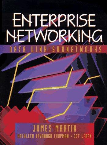 9780135075753: Enterprise Networking: Datalink Subnetworks