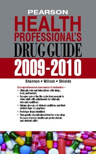 9780135076071: Pearson Health Professional's Drug Guide 2009-2010