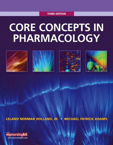 9780135077597: Core Concepts in Pharmacology (3rd Edition)
