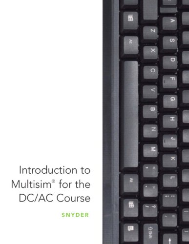 9780135080412: Introduction to MultiSim for the DC/AC Course