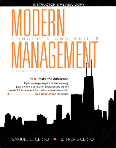 9780135080849: Modern Management: Concepts and Skills with MyManagementLab and Pearson eText (Access Card) (11th Edition)