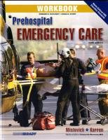 9780135081228: Workbook for Prehospital Emergency Care