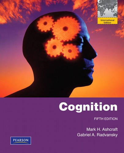 9780135081686: Cognition: International Edition