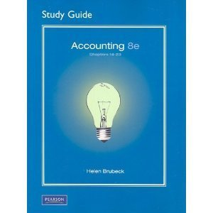 Student Guide 14-23 Accounting & Study Guide: Horngren, Charles T.,