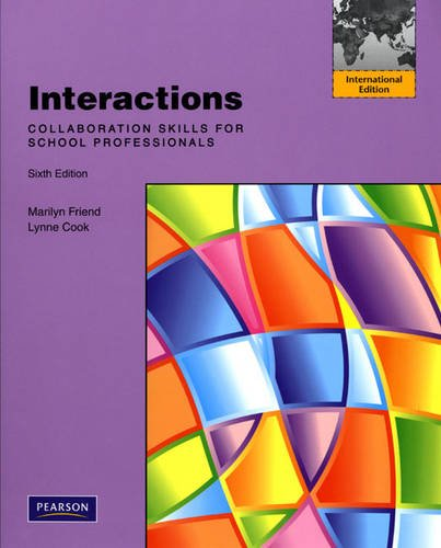 9780135081792: Interactions: Collaboration Skills for School Professionals: International Edition