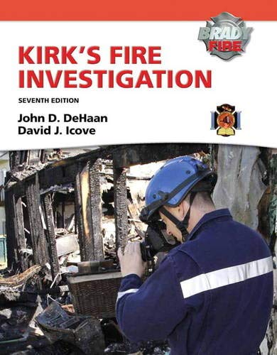 9780135082638: Kirk's Fire Investigation (Brady Fire)