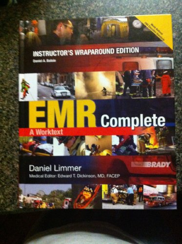 EMR Complete: A Worktext (Instructor's Wraparound Edition): PEARSON
