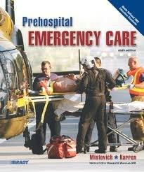 Prehospital Emergency Care, 9th Edition, Instructor's Wraparound: Mistovich, Karren