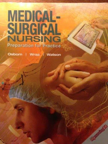 9780135085844: Medical-surgical Nursing (preparation for practice)