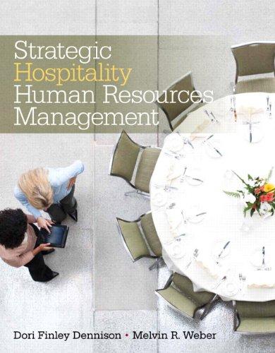 9780135087053: Strategic Hospitality Human Resources Management