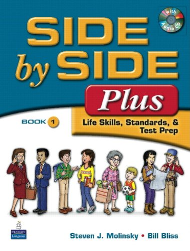 9780135087237: Side by Side Plus 1 Student Book + Activity & Test Prep Workbook 1