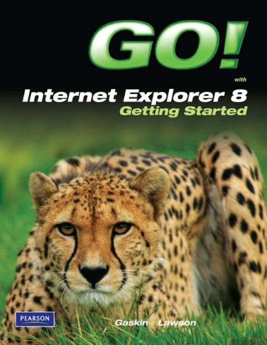 9780135088616: GO! with Internet Explorer 8 Getting Started