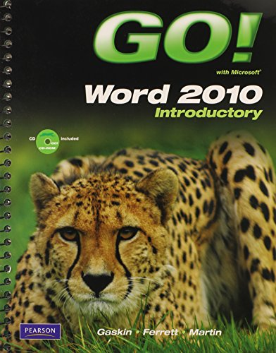 9780135090916: GO! with Microsoft Word 2010 Introductory