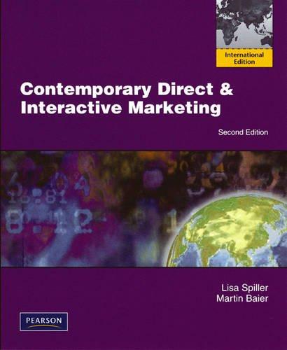 9780135093160: Contemporary Direct & Interactive Marketing