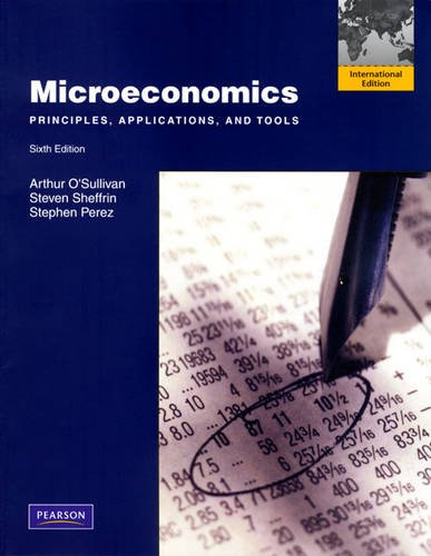 9780135093436: Microeconomics: Principles, Applications, and Tools: International Edition