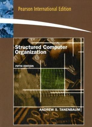 9780135094051: Structured Computer Organization: International Edition