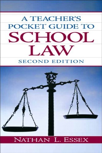9780135094181: A Teacher's Pocket Guide to School Law (2nd Edition)