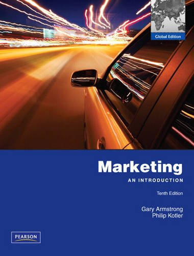 9780135094860: Marketing: An Introduction