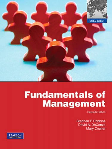 9780135095188: Fundamentals of Management