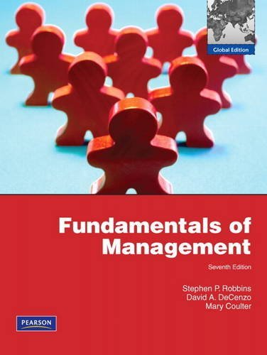 9780135095188: Fundamentals of Management: 7th edition ~ global edition