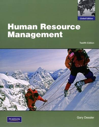 9780135095195: Human Resource Management