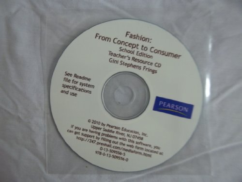 Fashion: From Concept to Consumer/Teacher Resource CD: Education, Pearson
