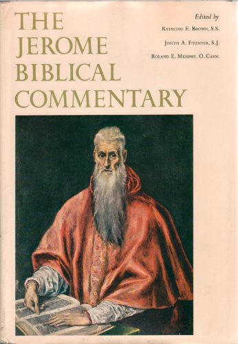9780135096123: The Jerome Biblical Commentary