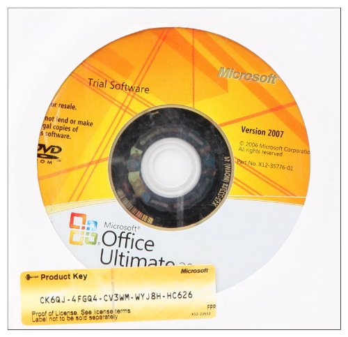 9780135096338: Microsoft Office 2007 180-Day Trial 2009