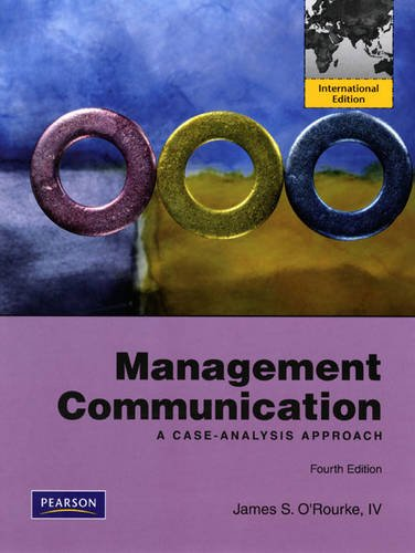9780135096376: Management Communication: A Case-Analysis Approach