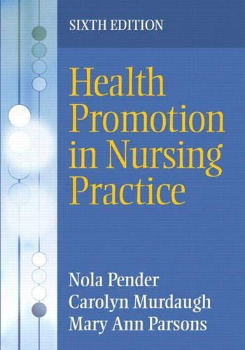 9780135097212: Health Promotion in Nursing Practice