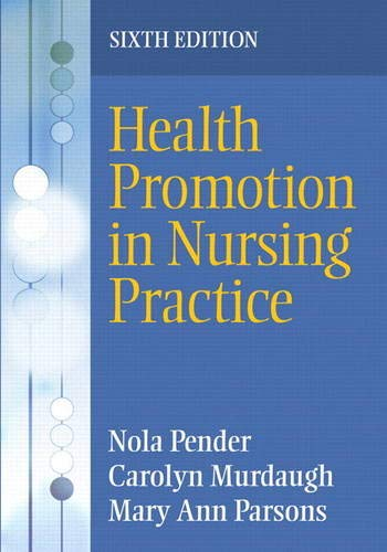 9780135097212: Health Promotion in Nursing Practice