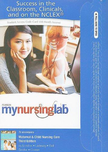 9780135097427: MyNursingLab -- Access Card -- for Maternal & Child Nursing