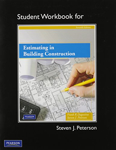 9780135097489: Student Workbook for Estimating in Building Construction