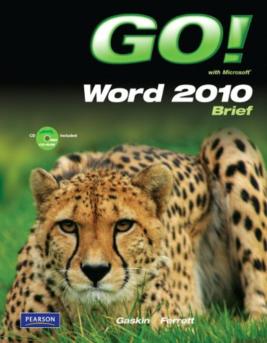 9780135097854: GO! with Microsoft Word Brief