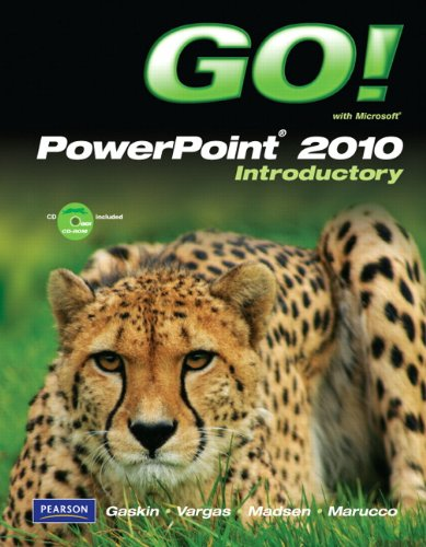 9780135098004: GO! with Microsoft PowerPoint 2010 Introductory