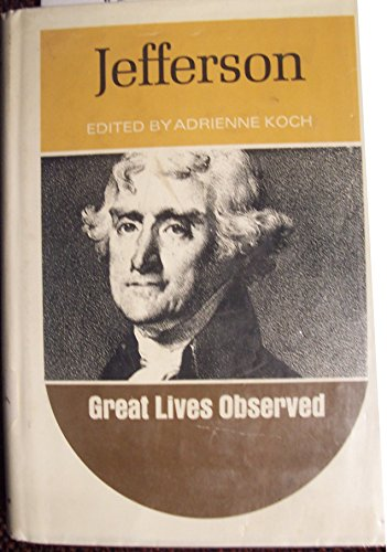 9780135098103: Jefferson (Great Lives Observed)