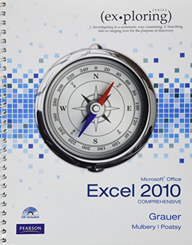 9780135098592: Exploring Microsoft Office Excel 2010 Comprehensive (Ex-ploring Series)