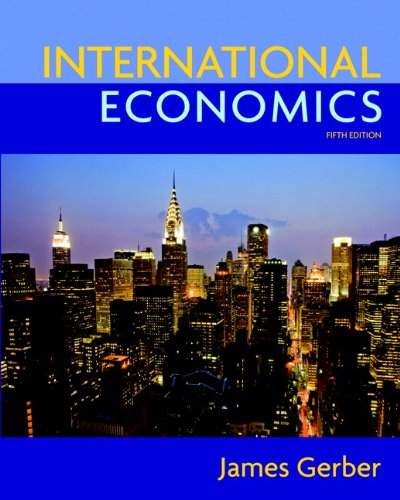 9780135100158: International Economics (5th Edition) (The Pearson Series in Economics)