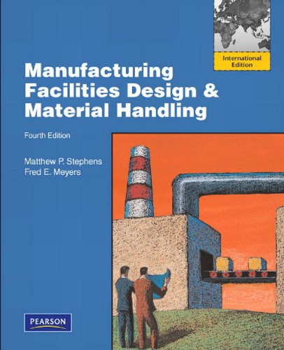 9780135101292: Manufacturing Facilities Design and Material Handling