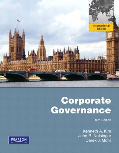 9780135101582: Corporate Governance