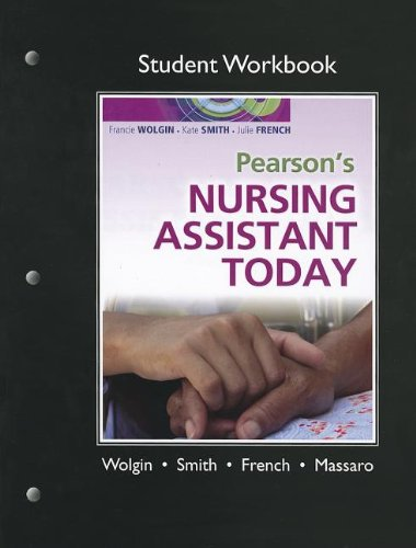 9780135101773: Student Workbook for Pearson's Nursing Assistant Today